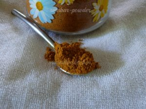 sambar -powder-recipe