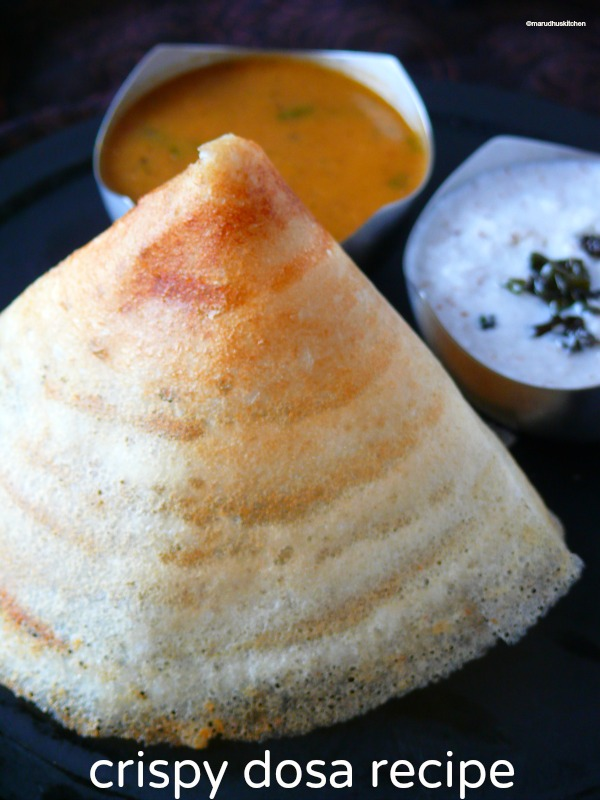 how to make crispy dosa recipe/dosa south indian
