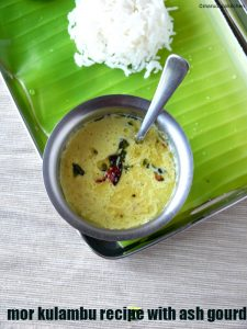 mor kulambu recipe with ash gourd