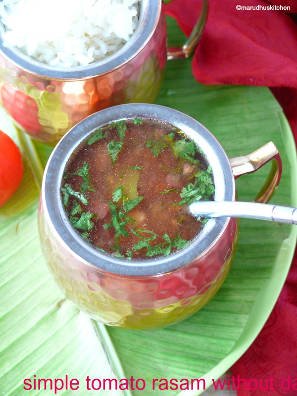 simple tomato rasam without dal /easy tomato rasam(instant)