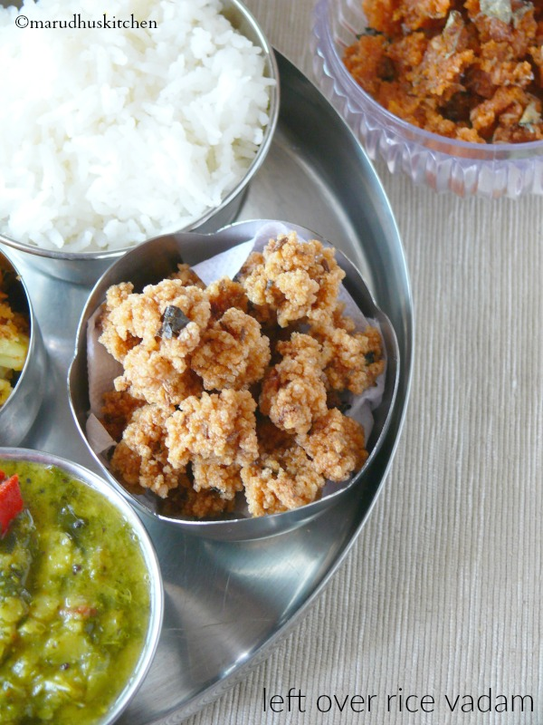 killu vathal recipe /Leftover rice vadam