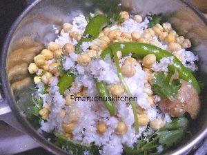 coriander chutney tamilnadu style /fresh kothamalli chutney for idli dosa